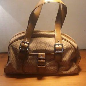 NINE WEST Canvas handbag